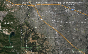 Cupertino Ca Map